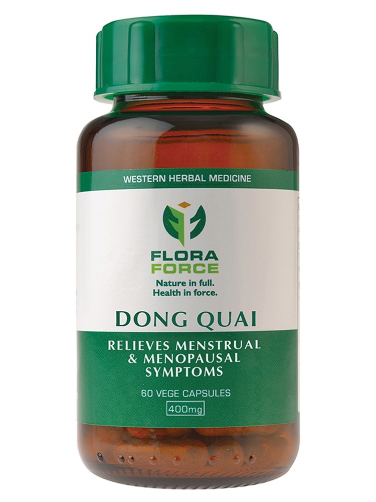 dong quai capsules - flora force health products, Skeleton