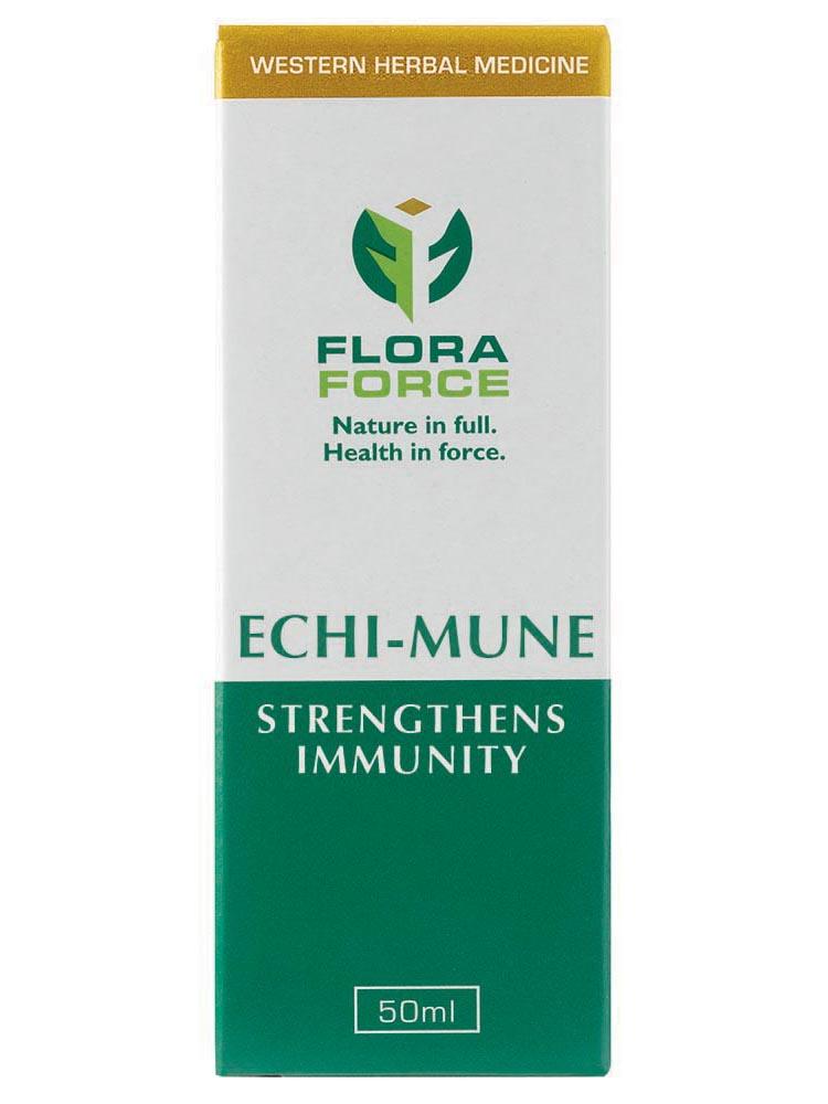 flora force echi-mune drops box