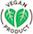 vegan product logo